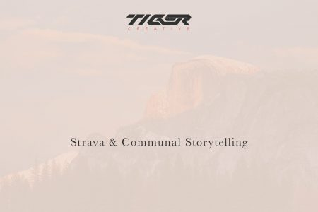 strava and communal storytelling