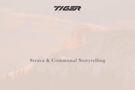 strava and communal storytelling